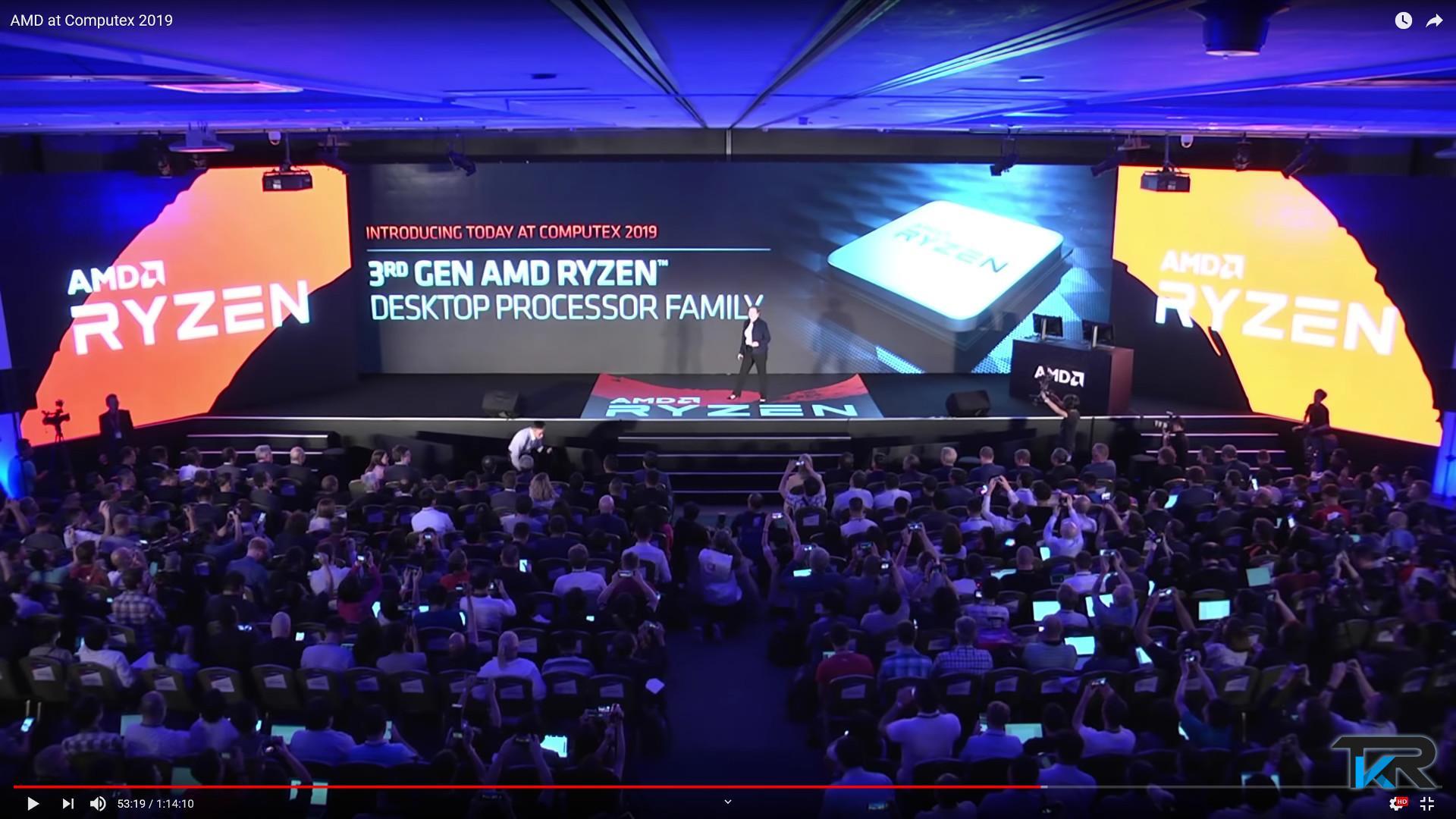 AMD keynote a Taipei. Ryzen di terza generazione e AMD Navi a 7nm