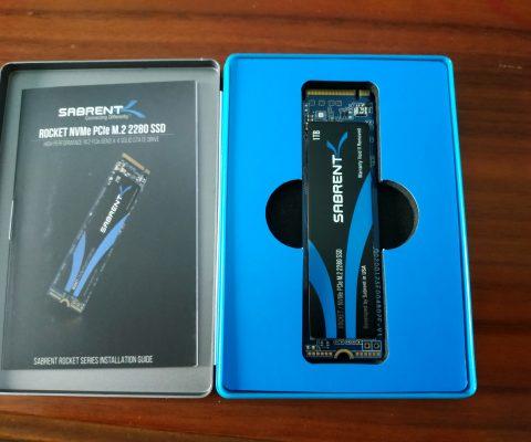 SSD nvme Sabrent Rocket 1TB Review : Performance al top