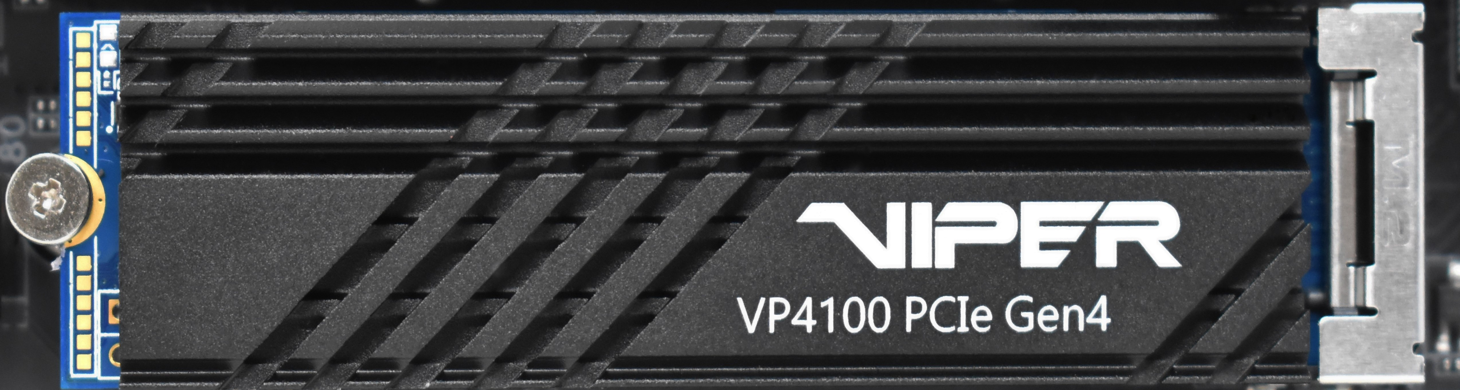 Patriot VP4100 un nuovo NVME 4.0