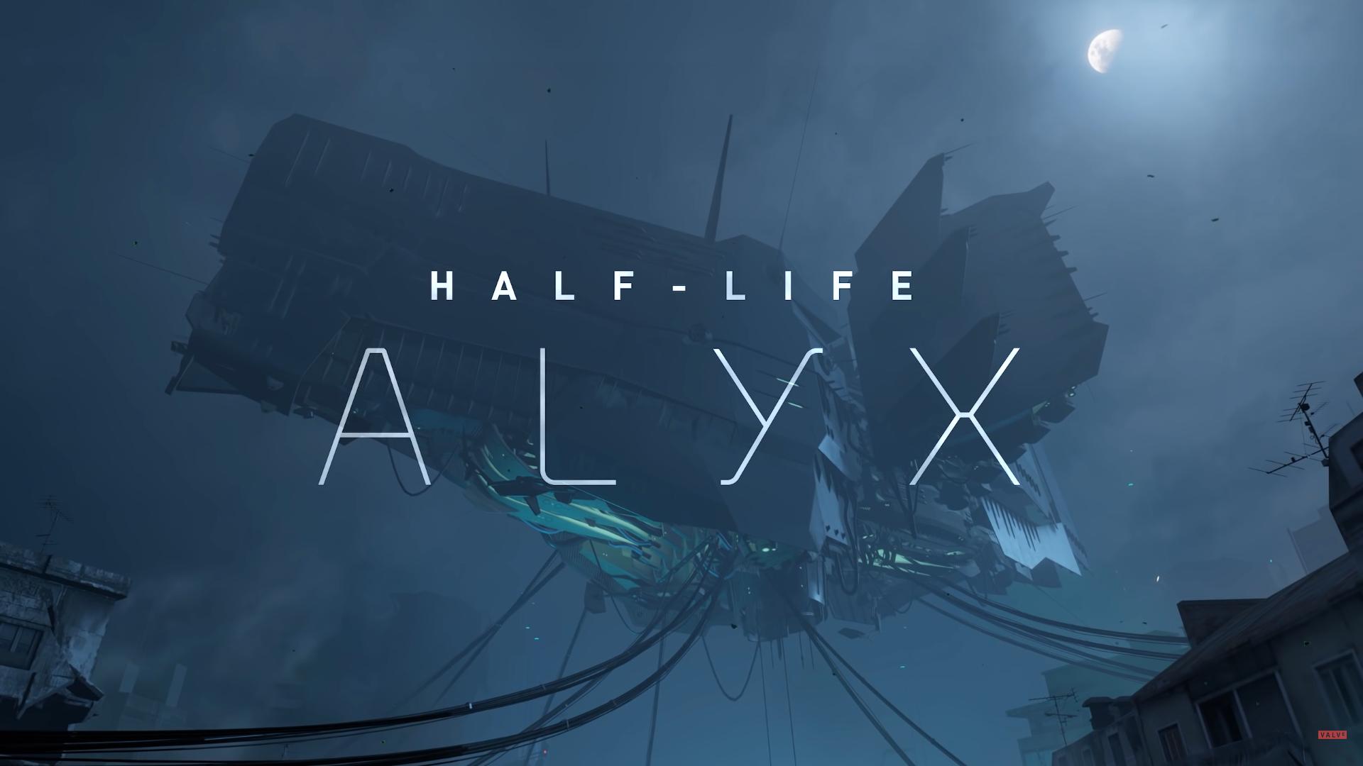Half Life Alyx, data di uscita, trailer e VR supportati.