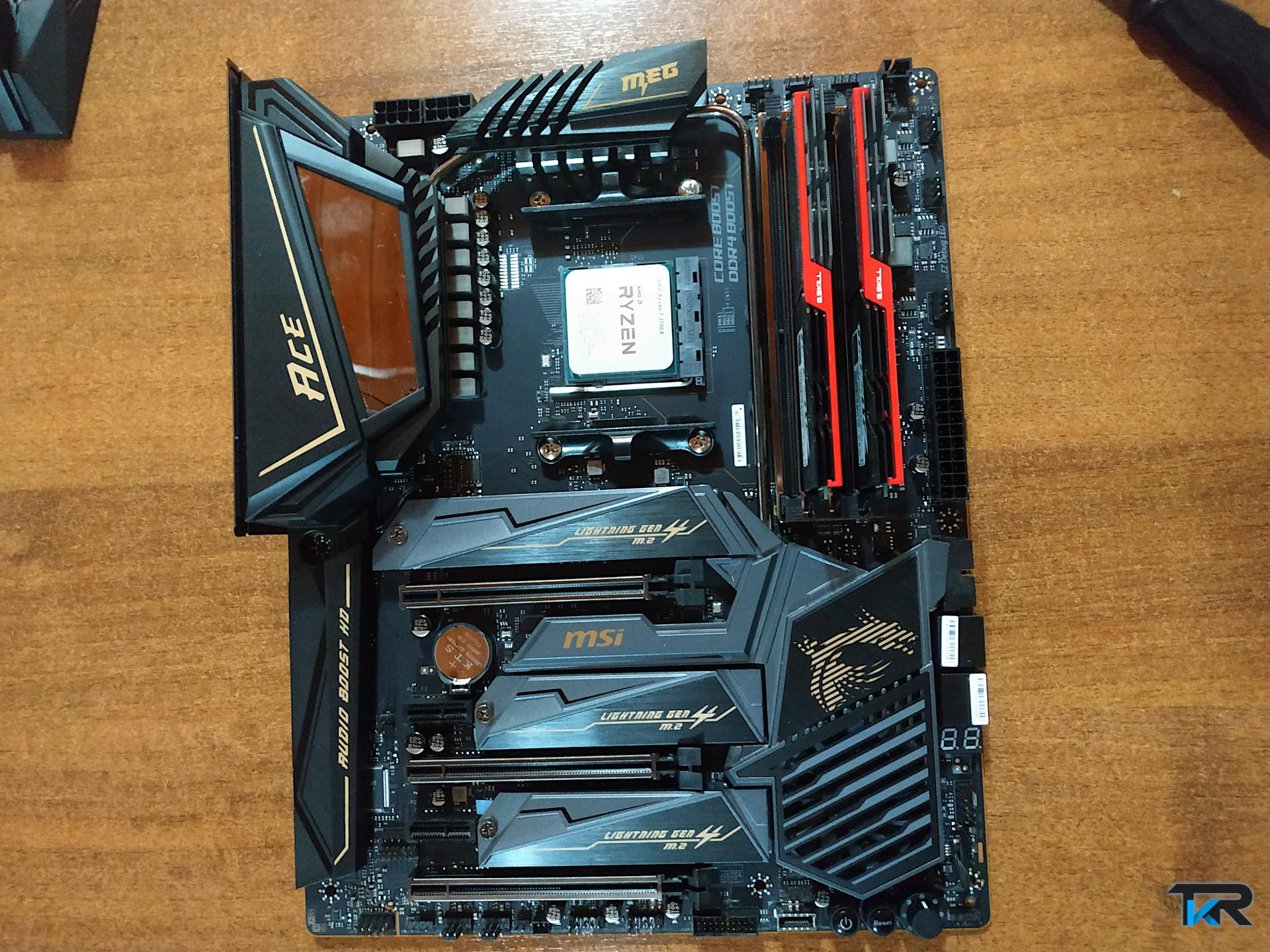 Msi Meg x570 Ace review. x570 vs x470