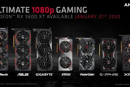 AMD aggiorna la RX 5600XT prima del lancio