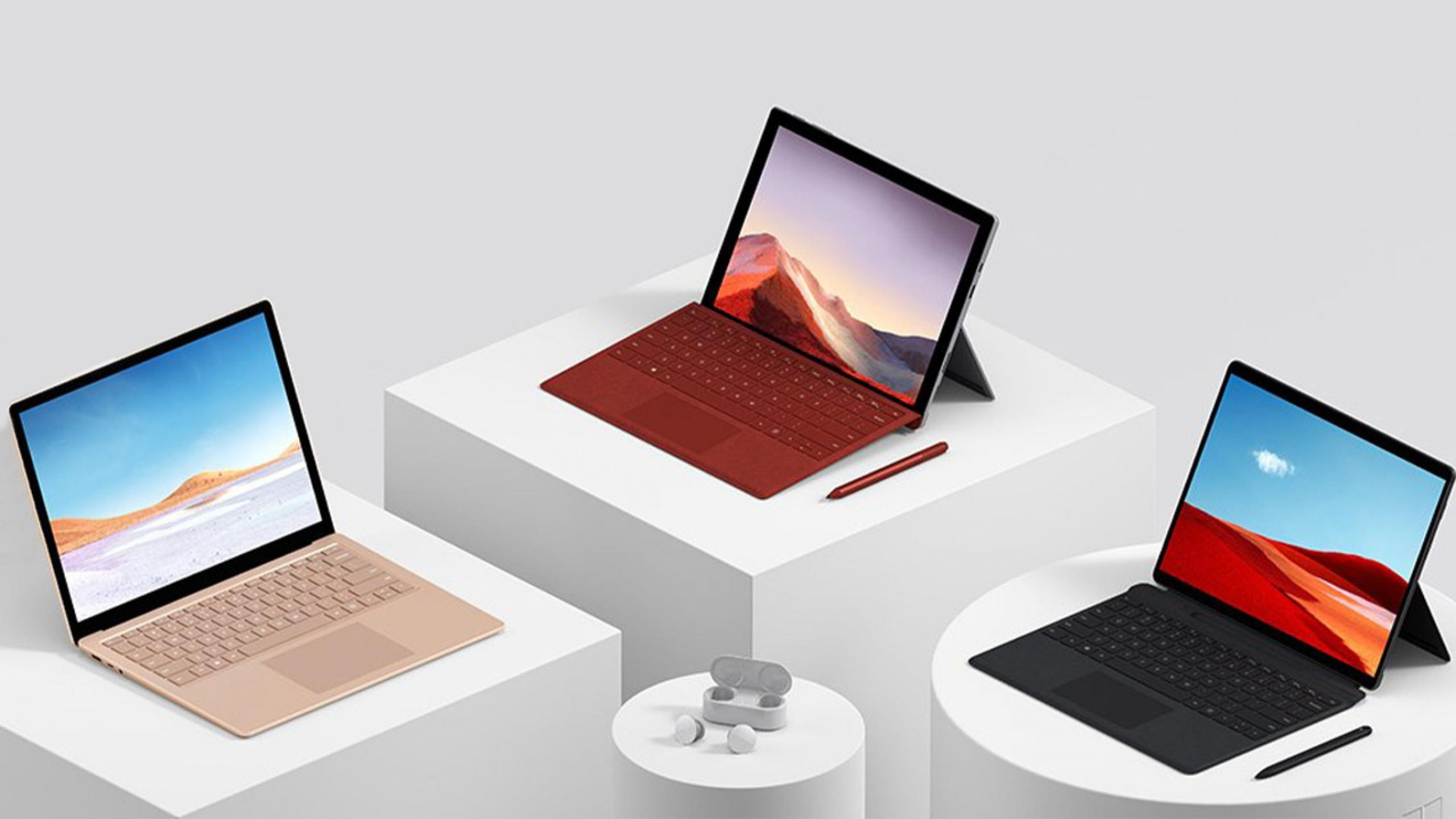 Ufficiali i Microsoft Surface Book 3 e Surface GO 2