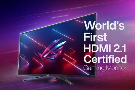 Asus annuncia il primo monitor da gaming con HDMI 2.1