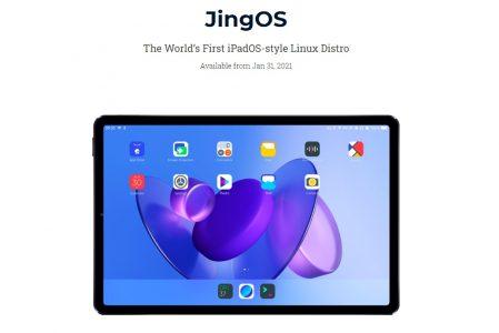 JingOS la nuova Distro Linux ispirata ad iPadOS