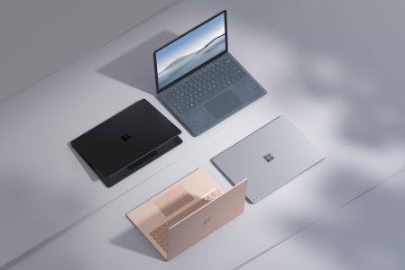 Microsoft Annuncia il Surface Laptop 4 con chip AMD ed Intel