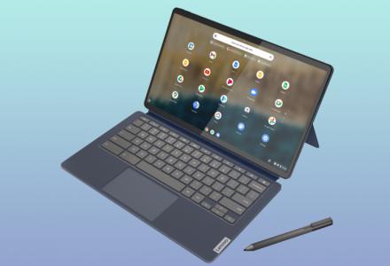 Lenovo annuncia l'IdeaPad Duet 5 con schermo OLED
